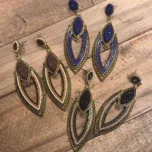 Bundle of 3 Earrings